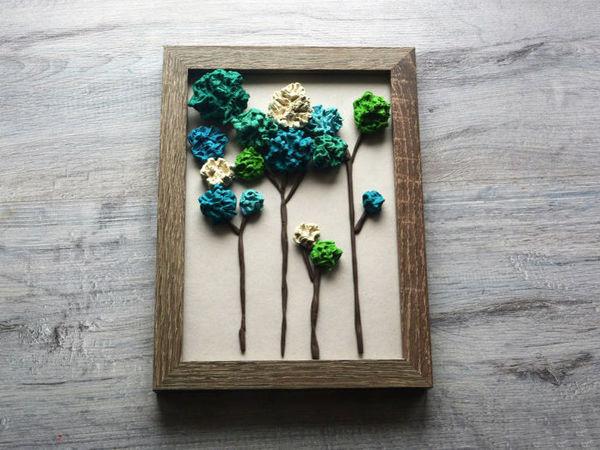 Лепим картину из пластилина «Воспоминание о лете» | Ярмарка Мастеров - ручная работа, handmade