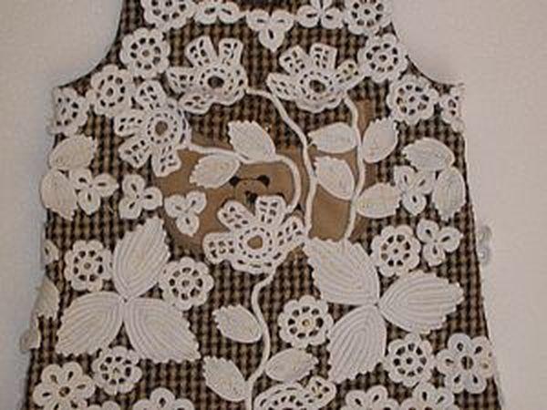 Детское платье ирландия-черновик   Ярмарка Мастеров - ручная работа, handmade