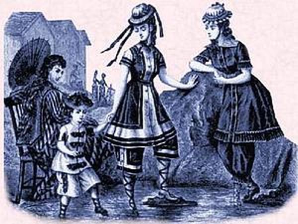 Блумерсы, или как женщины отбирали у мужчин брюки   Ярмарка Мастеров - ручная работа, handmade