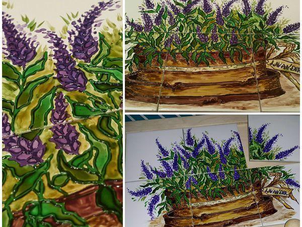 Мастер-класс Лавандовое панно | Ярмарка Мастеров - ручная работа, handmade