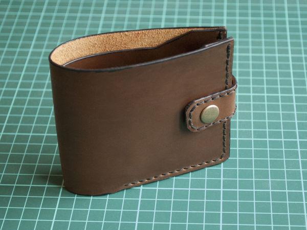 Как сшить простой кошелёк своими руками | Ярмарка Мастеров - ручная работа, handmade