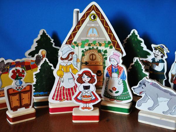 Сказочные персонажи для ваших малышей   Ярмарка Мастеров - ручная работа, handmade