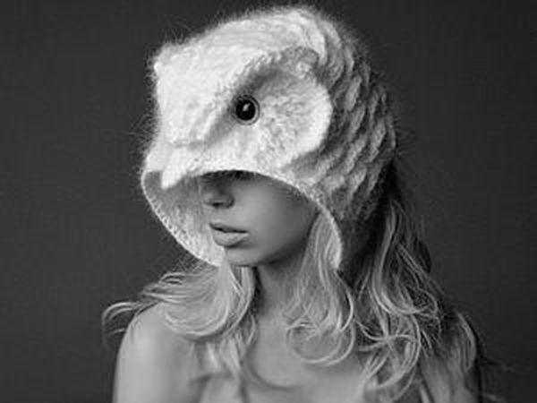 Шапки-совы от дизайнера вязаной одежды Helen  Rdel | Ярмарка Мастеров - ручная работа, handmade