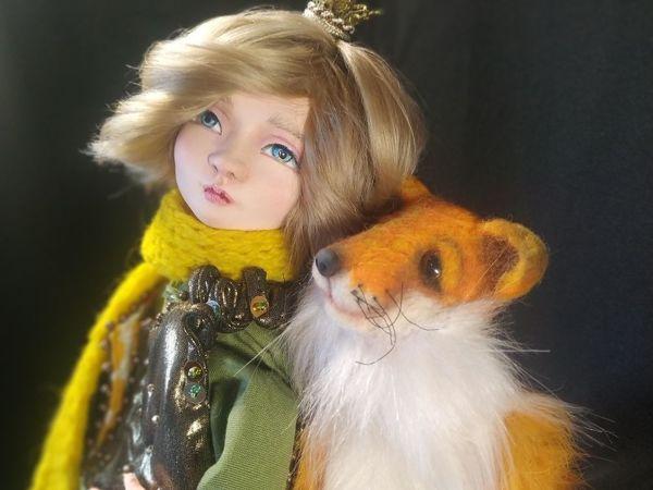 Маленький принц и лис. Ты навсегда в ответе за всех, кого приручил   Ярмарка Мастеров - ручная работа, handmade