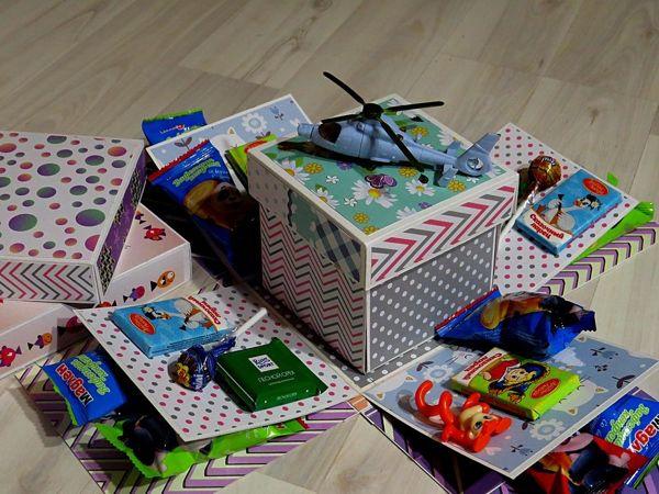 Making Surprise Box: Three in One | Livemaster - handmade