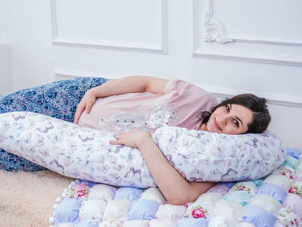 Можно ли беременным спать на правом боку? | Ярмарка Мастеров - ручная работа, handmade