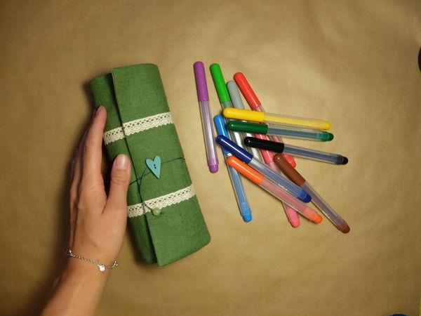 Мастер-класс: Создаем текстильный пенал | Ярмарка Мастеров - ручная работа, handmade