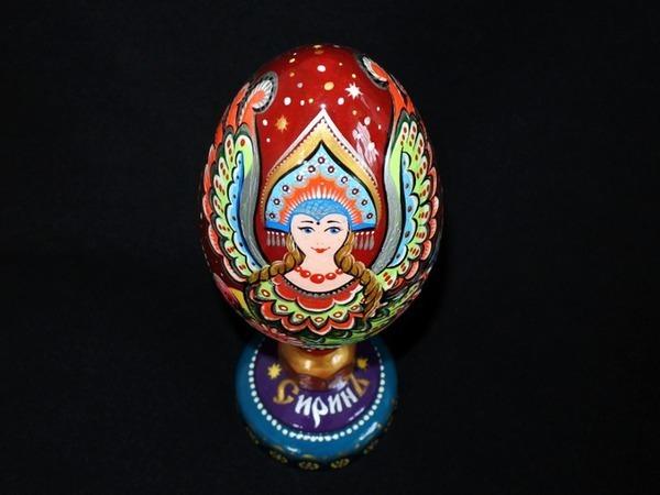 Делаем пасхальное яйцо «Сирин»   Ярмарка Мастеров - ручная работа, handmade