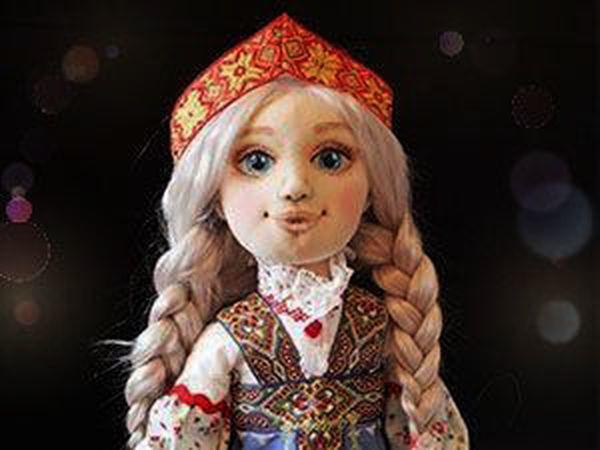 Шьем куколку Настеньку из «Сказа о Ясном Соколе»  подробный мастер-класс   46e92e46390