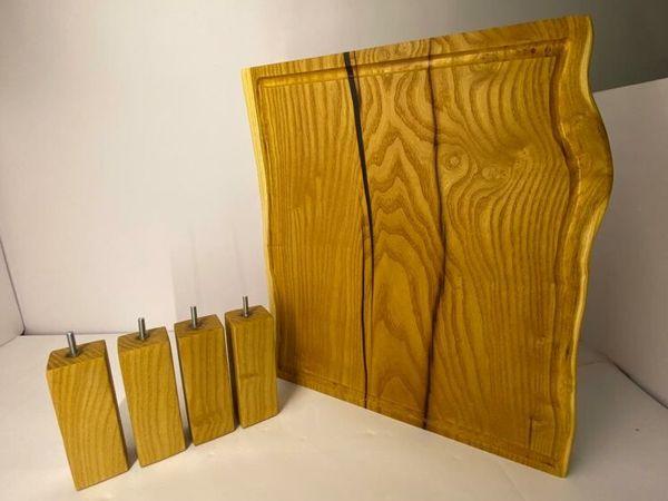 Процесс создания доски для подачи, разделочной доски | Ярмарка Мастеров - ручная работа, handmade