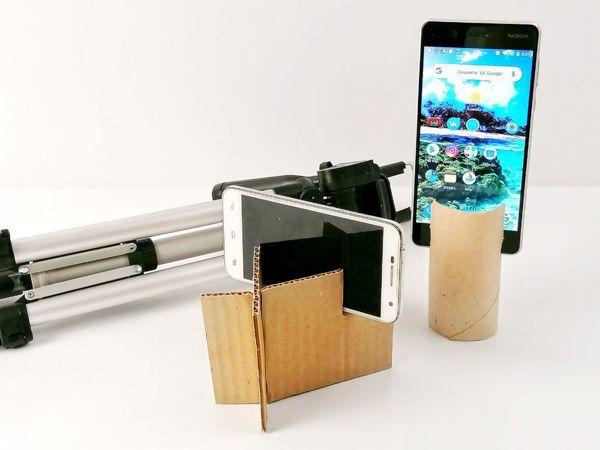 Подставка для телефона своими руками | Ярмарка Мастеров - ручная работа, handmade