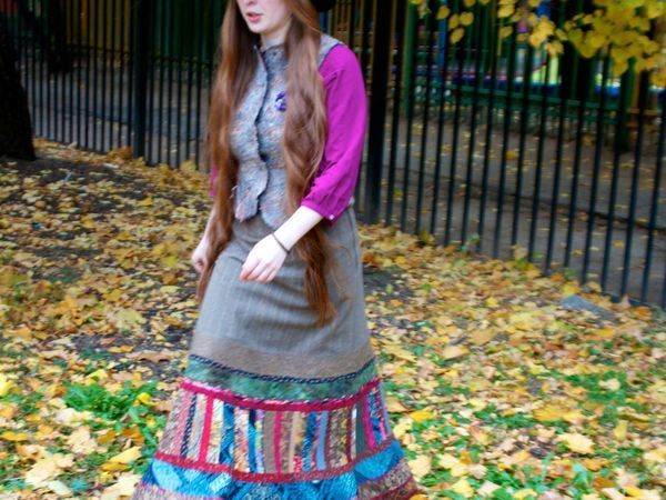 Как сшить красивейшую всепогодную юбку? Часть 6. Японский хлопок | Ярмарка Мастеров - ручная работа, handmade