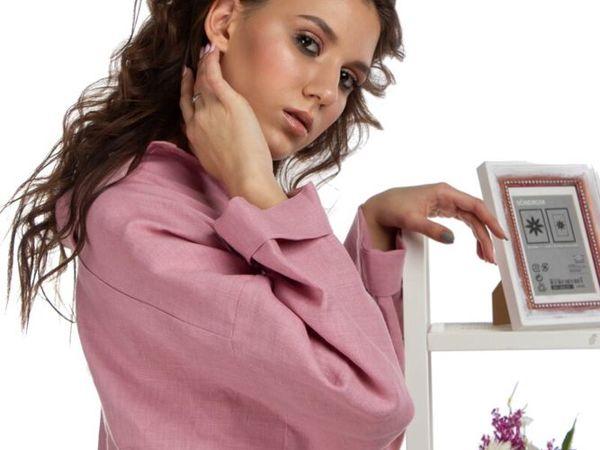 Новый фотосет- профессиональная модель и льняные рубашки | Ярмарка Мастеров - ручная работа, handmade