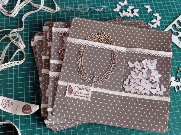 Как сделать странички с прозрачными кармашками для альбома-органайзера | Ярмарка Мастеров - ручная работа, handmade
