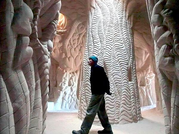 Восьмое чудо света: скульптор-отшельник создает невероятные пещеры собственными руками   Ярмарка Мастеров - ручная работа, handmade