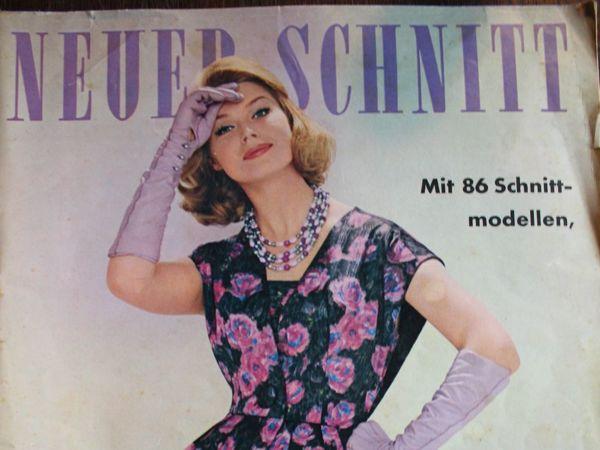 Neuer Schnitt — старый немецкий журнал мод 12/1960   Ярмарка Мастеров - ручная работа, handmade