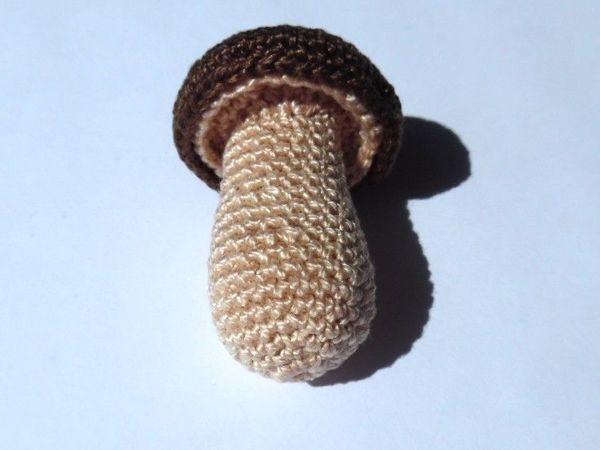 Как связать гриб крючком   Ярмарка Мастеров - ручная работа, handmade