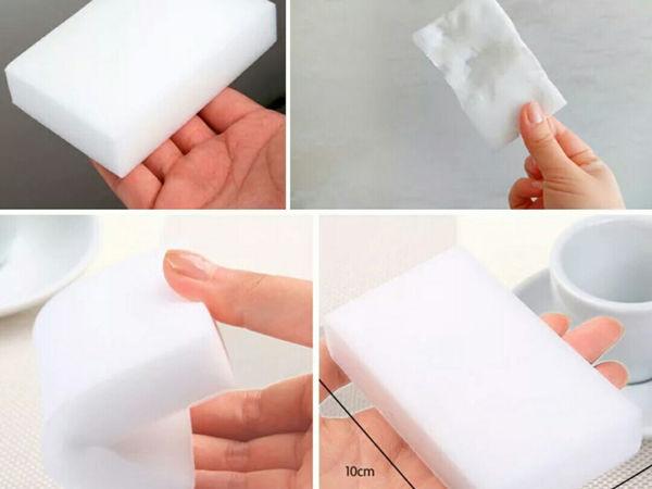 Меламиновая губка: зачем вам это белое чудо? | Ярмарка Мастеров - ручная работа, handmade