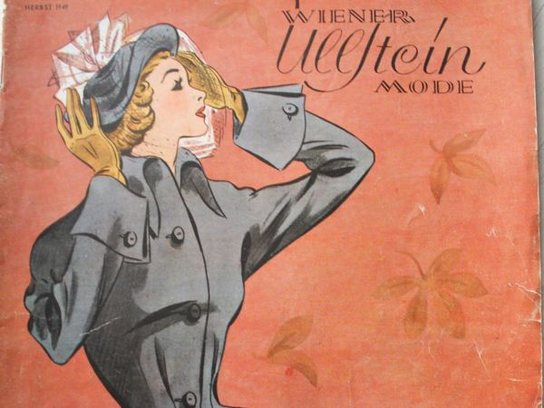 Wiener Ullstein  —  журнал мод  из Австрии -Осень 1949 —  Редкость | Ярмарка Мастеров - ручная работа, handmade