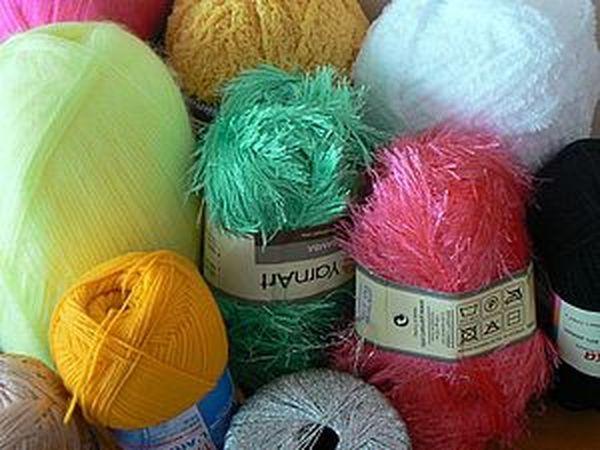 виды пряжи для вязания ярмарка мастеров