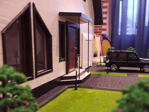 Создаем макет дома из ламината | Ярмарка Мастеров - ручная работа, handmade