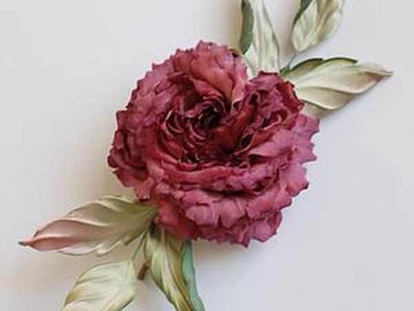 Особенности окрашивания шелковых цветов | Ярмарка Мастеров - ручная работа, handmade