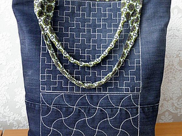 Шьем джинсовую сумочку | Ярмарка Мастеров - ручная работа, handmade