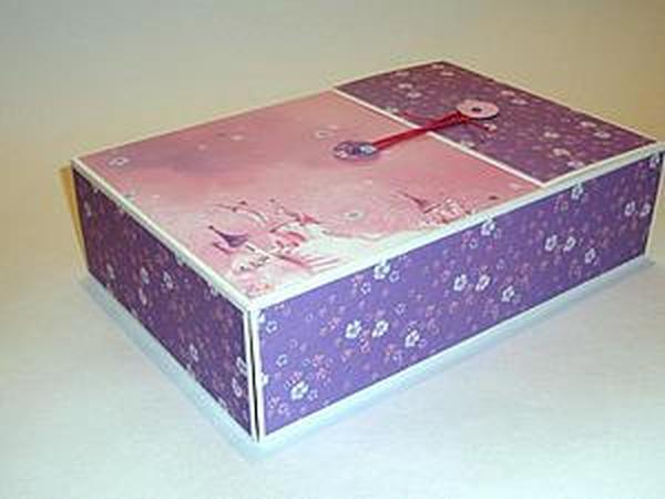 Мастер-класс: делаем коробочку для альбома | Ярмарка Мастеров - ручная работа, handmade