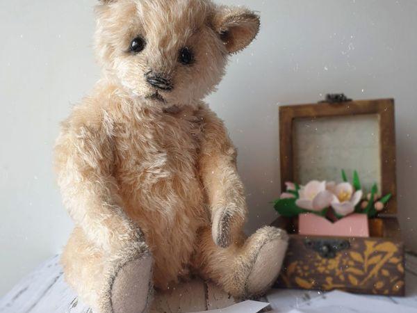 Необычный для меня мишка | Ярмарка Мастеров - ручная работа, handmade