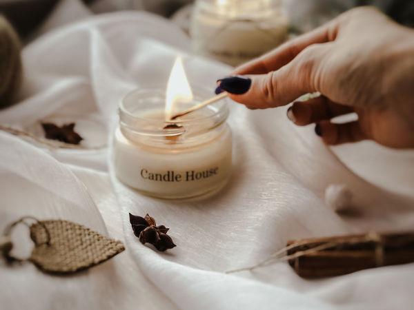 Святочные гадания со свечами | Ярмарка Мастеров - ручная работа, handmade