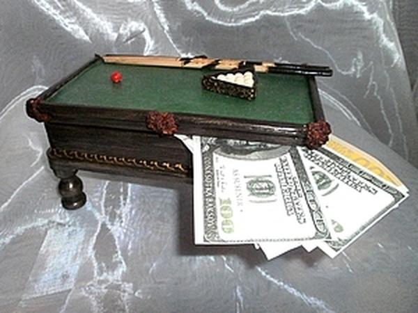 Мастер-класс: необычная купюрница «Бильярд» своими руками | Ярмарка Мастеров - ручная работа, handmade