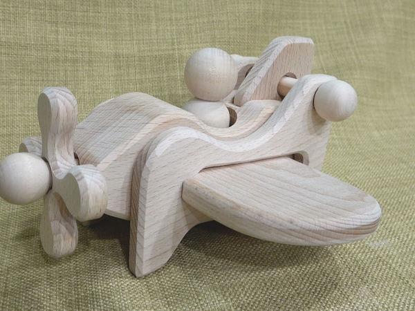 Объемный пазл «Самолет» своими руками   Ярмарка Мастеров - ручная работа, handmade