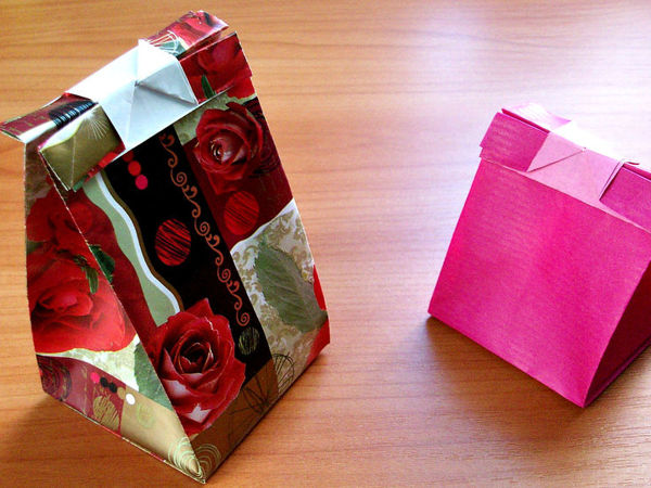 How to Make Gift Bags with Clasp in 5 Minutes | Livemaster - handmade