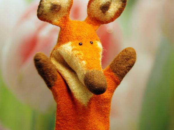 Мастер-класс по созданию игрушки бибабо «Лиса» | Ярмарка Мастеров - ручная работа, handmade