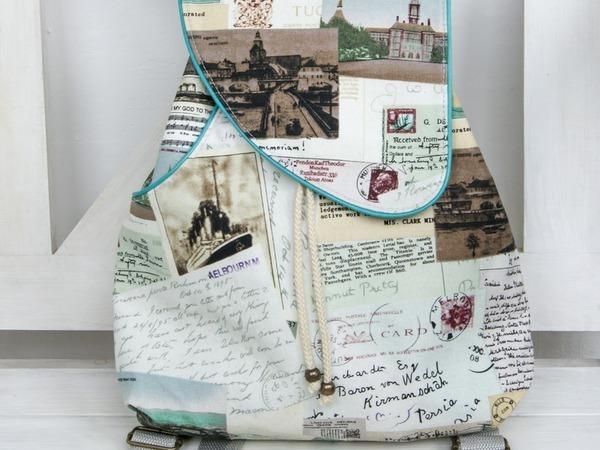 Шьем рюкзачок для путешествий | Ярмарка Мастеров - ручная работа, handmade