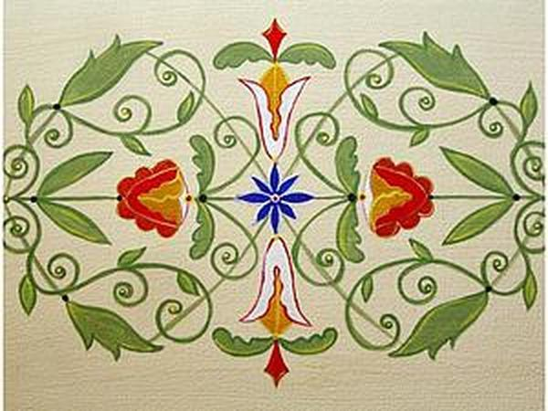 Расписываем мебель акриловыми красками | Ярмарка Мастеров - ручная работа, handmade