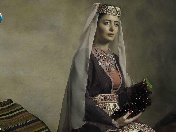 Как украшают армянский костюм? Женский тараз | Ярмарка Мастеров - ручная работа, handmade