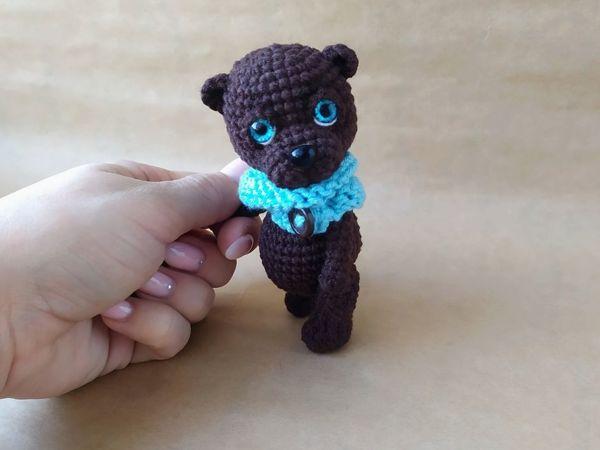 Вяжем котика и мишку | Ярмарка Мастеров - ручная работа, handmade