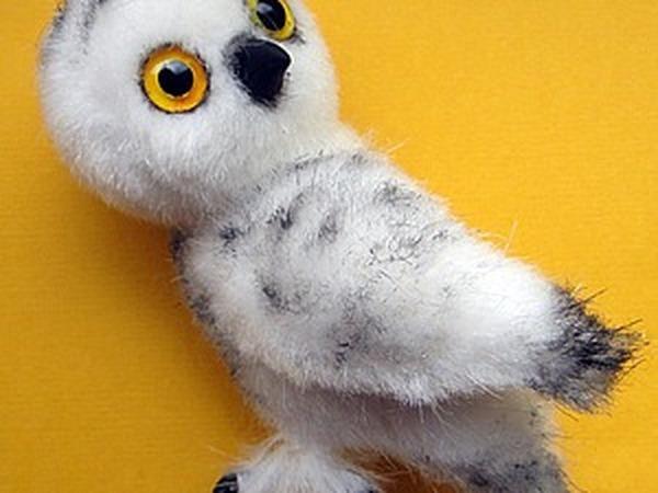 Делаем лохматые лапки для совенка | Ярмарка Мастеров - ручная работа, handmade