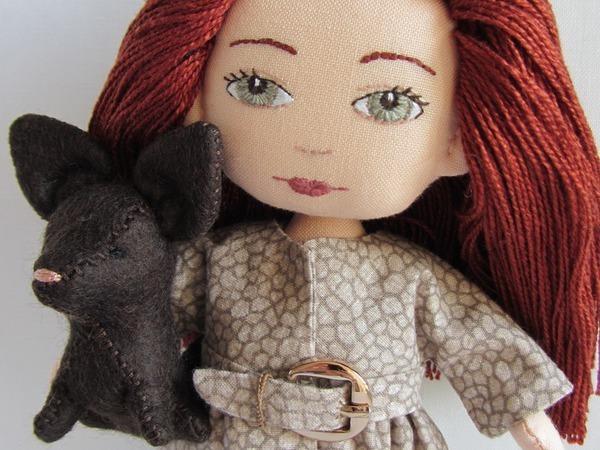 Мастер-класс для девочек: шьем плащ для куклы | Ярмарка Мастеров - ручная работа, handmade