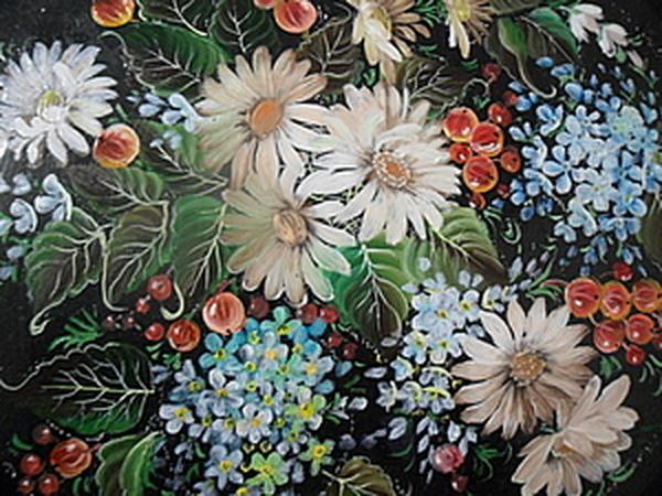 Кемеровская декоративная роспись.   Ярмарка Мастеров - ручная работа, handmade