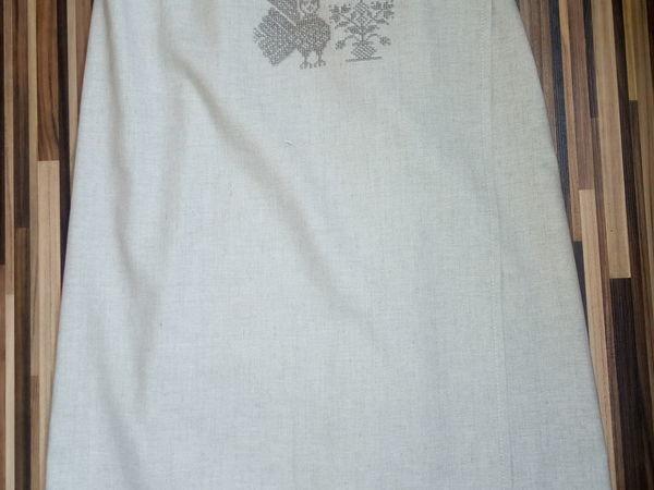 Шьём килт для бани с вышивкой крестом и филейным кружевом | Ярмарка Мастеров - ручная работа, handmade