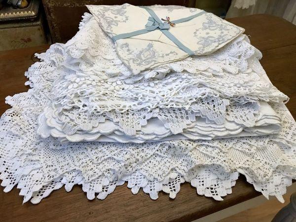 Старинный столовый текстиль | Ярмарка Мастеров - ручная работа, handmade