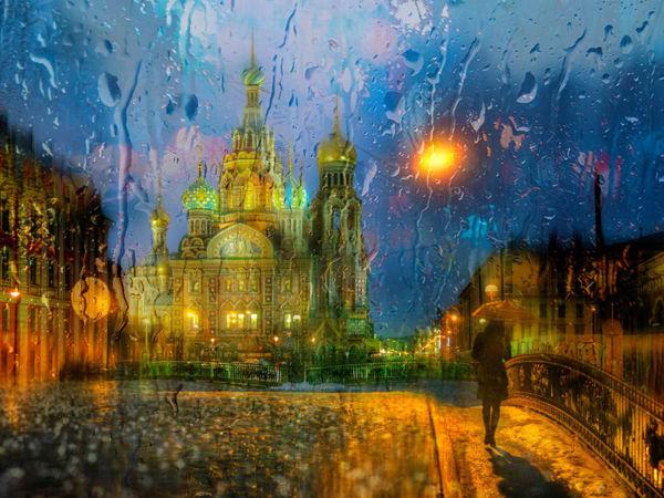 Художник, что рисует дождь: городские пейзажи Эдуарда Гордеева | Ярмарка Мастеров - ручная работа, handmade