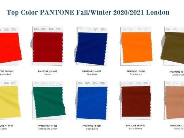 Модные Цвета Panton Осень — Зима 2020/2021 | Ярмарка Мастеров - ручная работа, handmade