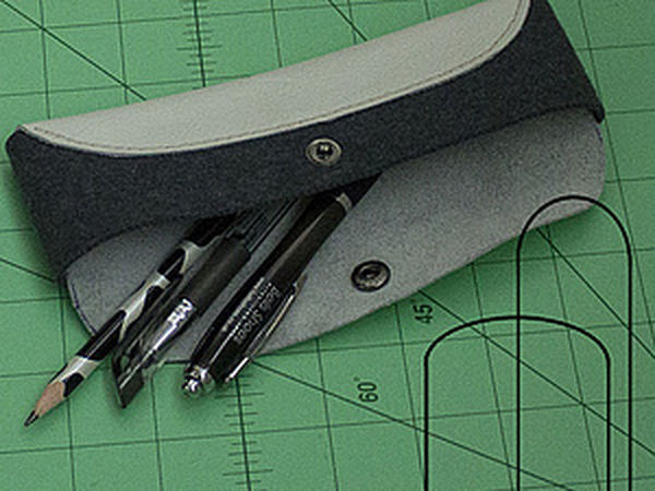 Making a Simple Pencil Case for Pens and Handmade Tools | Livemaster - handmade