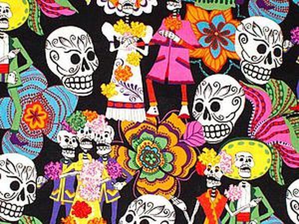 Viva, Mexicо! Мексиканские мотивы в тканях для пэчворка | Ярмарка Мастеров - ручная работа, handmade