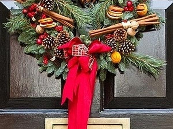 Ароматные, ледовые, фруктовые, еловые - рождественские веночки | Ярмарка Мастеров - ручная работа, handmade