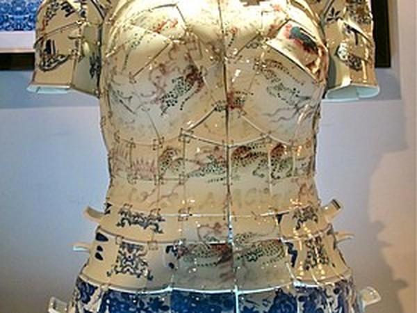 Платья из разбитых чашек китайских династий | Ярмарка Мастеров - ручная работа, handmade