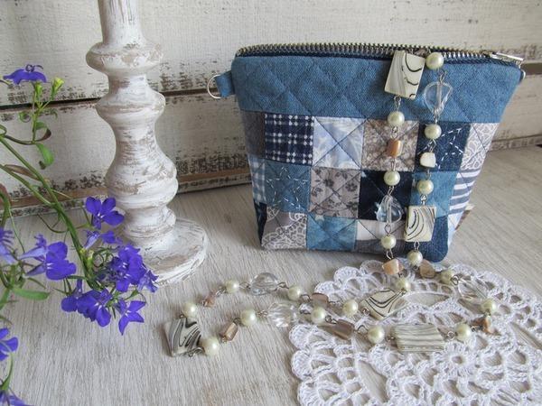 Шьем сумочку-косметичку | Ярмарка Мастеров - ручная работа, handmade